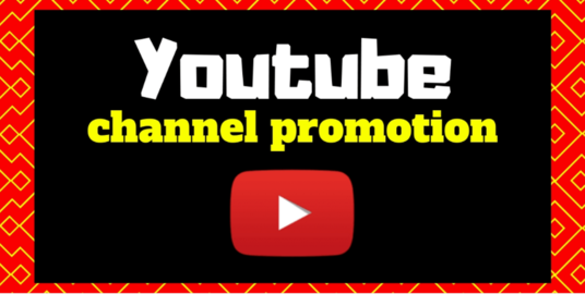 I will do YouTube channel promotion perfectly