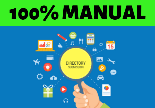 do 50 Manual Directory submissions in High Page Ranked directory sites