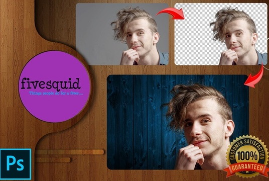 I will remove background or change background of 10 image in photoshop