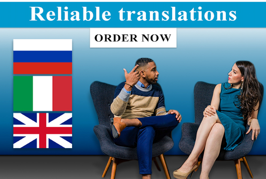I will translate your content from English to Russian or Italian and vice-versa