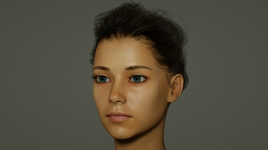 model a 3d realistic or artistic character for you