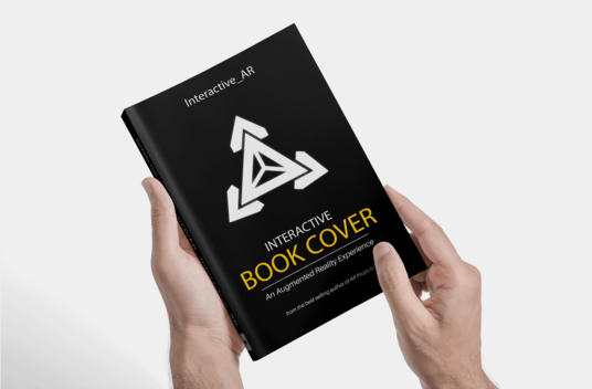 I will turn your book cover into an interactive experience