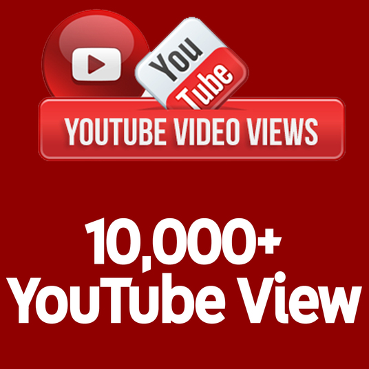 I will send 10,000+ Real Human Active YouTube View