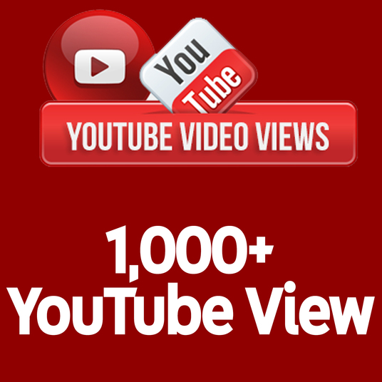 I will send +1,000 Real Human Active YouTube View