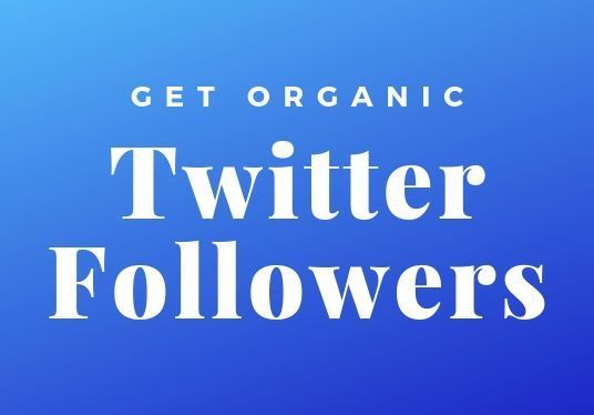 I will  Give You Organic Twitter Followers