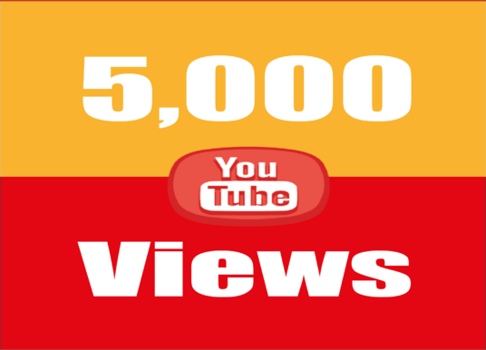 I will provide you best quality 5,000 Youtube Video Views