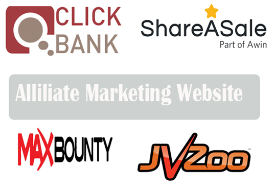 I will Create Clickbank, Jvzoo Affiliate Marketing website
