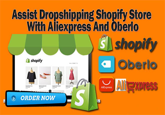 I will Create Build And Setup Aliexpress Dropshipping Shopify Store