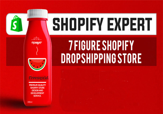 I will Develop Pro Automated Shopify Dropshipping Store