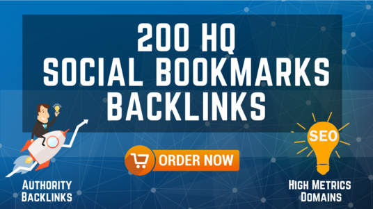 I will Provide 200 High Quality Social Bookmarks