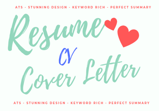 I will Craft Unique Resumes And Cover Letters