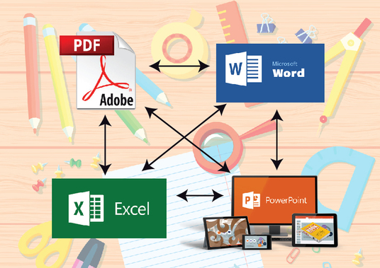 I will edit document image, PDF file, Excel, Word, Powerpoint ppt