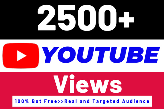 I will give you 2000+ good quality YouTube views