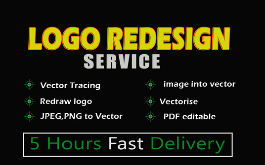 Redraw, Vectorise, Convert, Redesign Logo,Jpeg,Png,Sketch Into Vector Ai,Psd