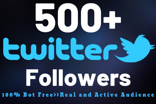 I will Add 500+ Permanent Twitter Followers