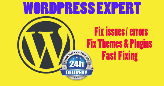 Fix Wordpress Issues, Errors, Bugs Or Problems
