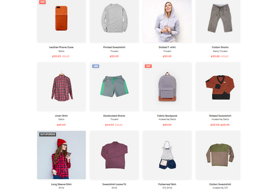 I will build an eye catching ecommerce website, online store, online shop