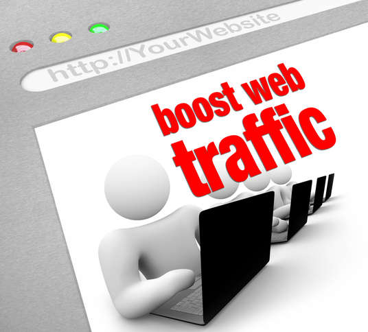 I will get you real targeted cbd web traffic