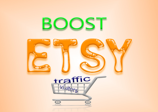 I will do Etsy shop promotion to get more traffic and sales