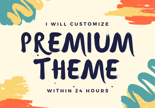 I will build business website with premium theme