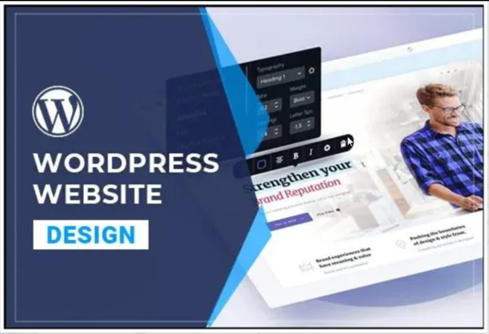 I will Make Responsive Wordpress Website Design Or Blog