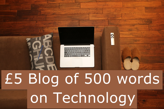 I will write 500-word blog for your technology-related website