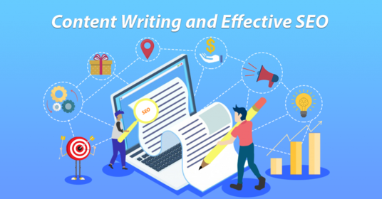 write website content on the base of SEO