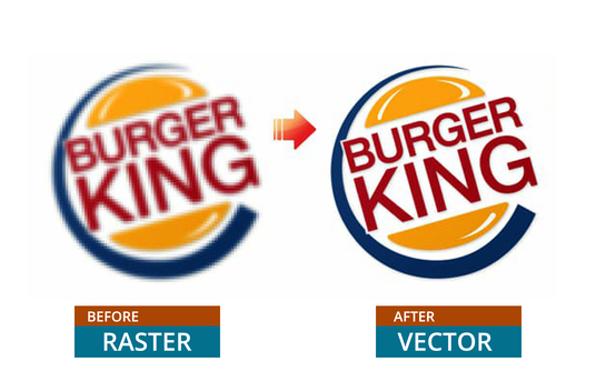trace or redraw any logo image into vector within 24hrs