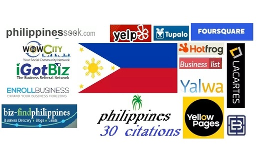 I will Do 30 Top Philippines Local Citations