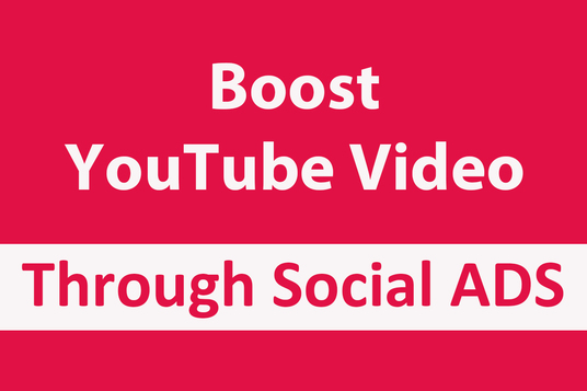 I will Promote Your Youtube Music Video Through Social Ads