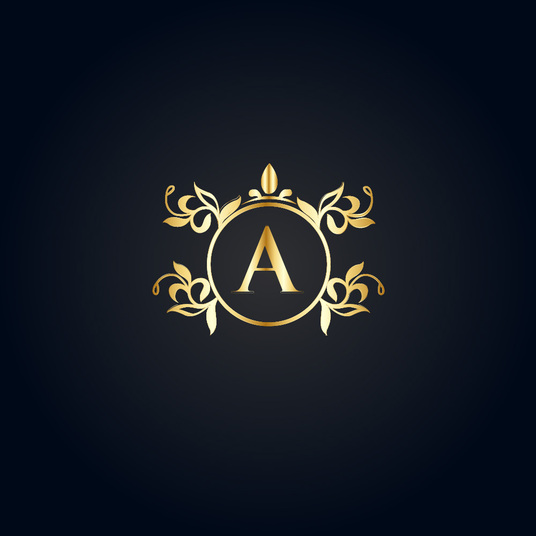 I will design luxury logo