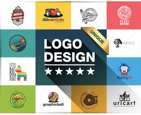 design 3 Professional logos for you in just a day