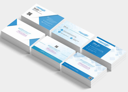create the right business card for your business