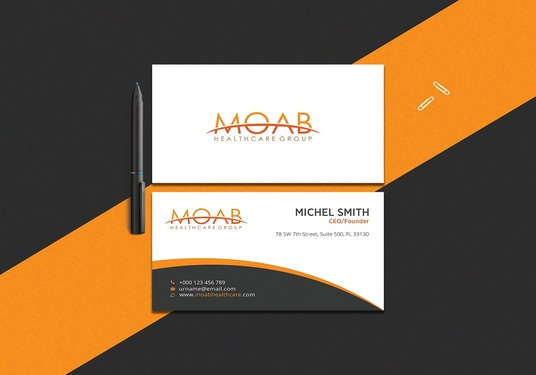 I will design professional modern business cards