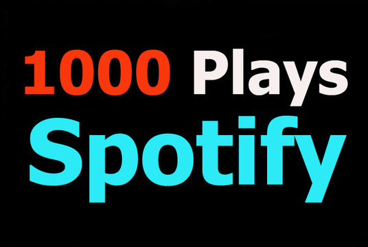 I will Provide 1000+ Spotify Plays