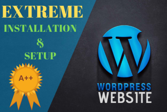 I will Create A Wordpress Website, Setup and Installation