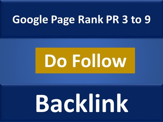 I will Do 500 Do Follow  PR 3 to 9 Backlinks for your website