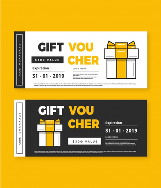 design outstanding Voucher, Coupon, Gift Card, Flyer or Ticket designs