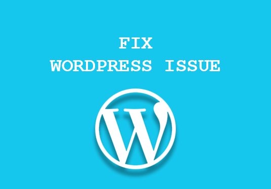 I will fix wordpress website issue