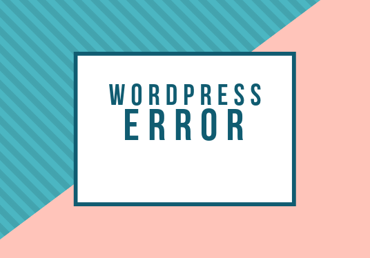 I will fix wordpress error