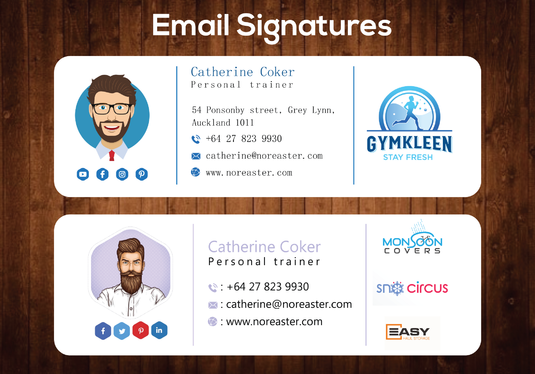Create Clickable Html Email Signature