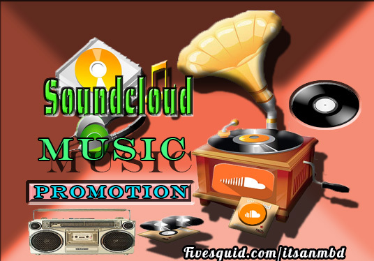 I will do Organic Soundcloud music promotion 20000+ plays