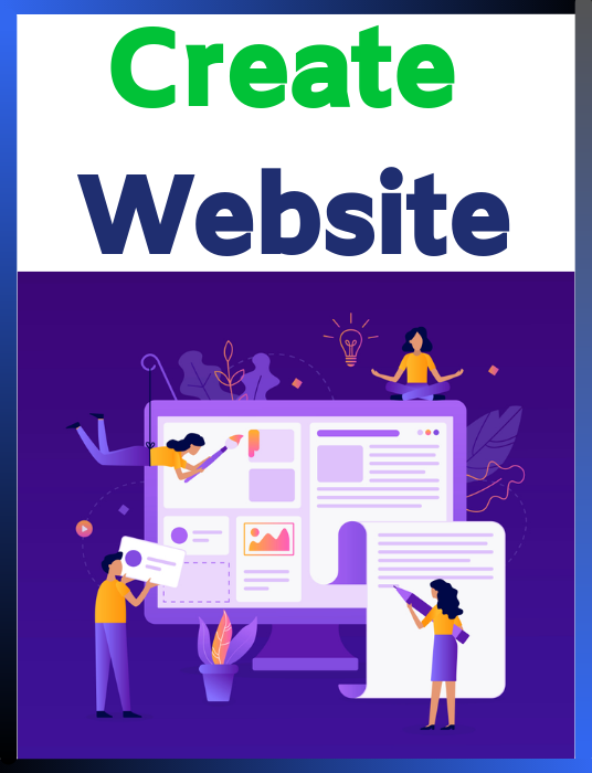 I will Create a Website
