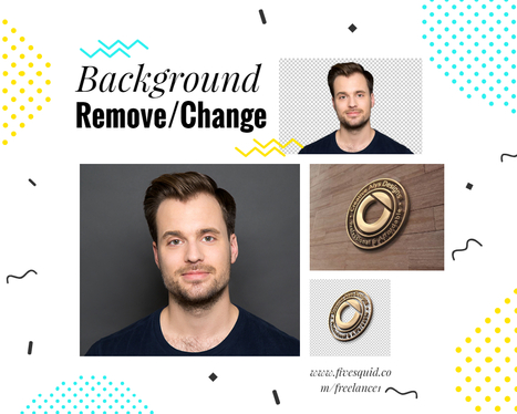 Change Or Remove Background of 50 Photos