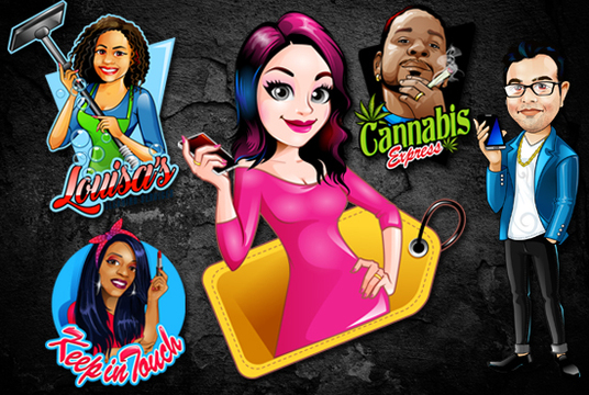 I will Design A Mascot,Character Or Cartoon Logo For You