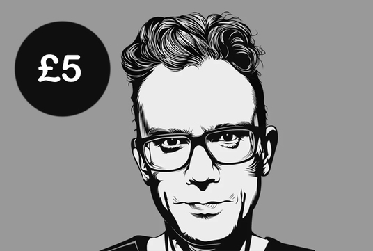 I will Make Detailed Vector Art Portrait in Black And White