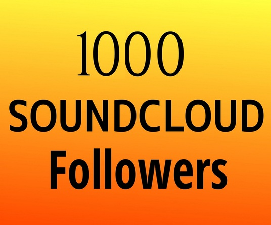 I will Provide 1000+ Real USA Soundcloud Followers