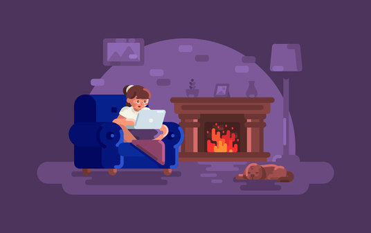I will create an awesome and fancy flat illustration