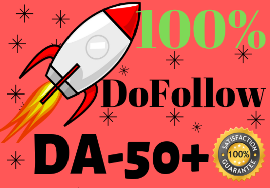 I will Create 20  DA50 - 100  only DoFollow backlinks with unique article submission and Indexing