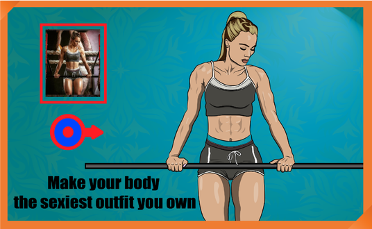 I will Draw Excellent Body And Fitness Illustrations